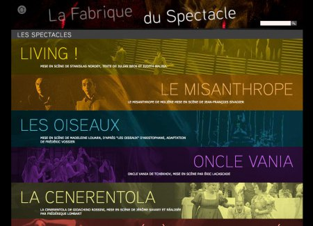 La fabrique du spectacle